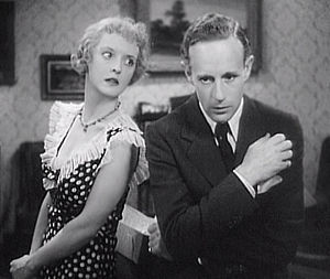 Of Human Bondage - Bette Davis and Leslie Howard in the 1934 film version