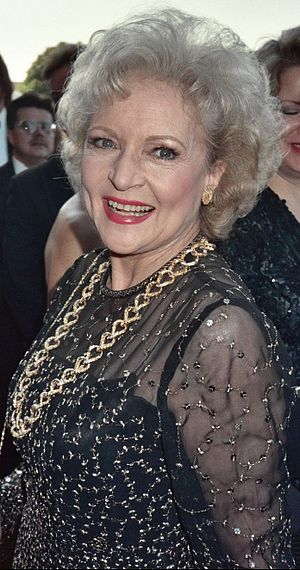 Photo of actress Betty White at the 41st Emmy ...