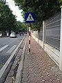 Biển báo sang đường, Hoa Lư, Hà Nội 001.JPG