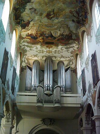 Johannes Zick - Ceiling in St Martin's Church, Biberach an der Riß