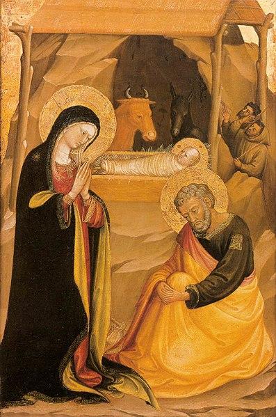 File:Bicci di Lorenzo - The Nativity - WGA2160.jpg