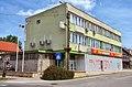 Bicske, Hungary, former communist party HQ 02.jpg