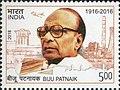Biju Patnaik 2018 stamp of India.jpg