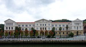 University of Deusto - Main building of the University of Deusto, Bilbao