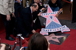 Bill Handel - Bill Handel at the ceremony receiving his star on the Hollywood Walk Of Fame