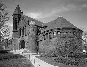 Billings Memorial Library - Image: Billings Library