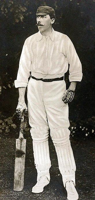 William Gunn (cricketer) - Gunn in around 1890