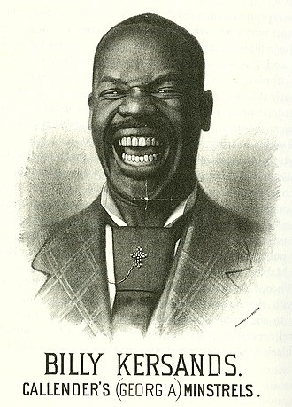 Billy Kersands - Billy Kersands from a poster for Callender's (Georgia) Minstrels, early 1870s