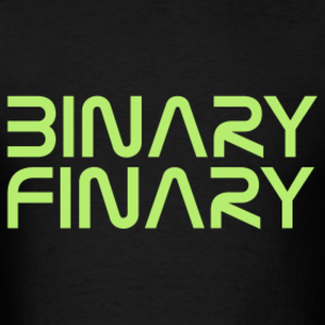 Binary Finary - Image: Binary Finary Logo 2013 11 13 09 10