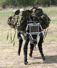روبوت بغل عسكري
