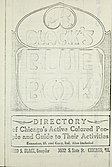 Black's blue book; business and professional directory; a compilation of names, addresses and telephones of all Chicago's colored business and professional people (1918) (14776639653).jpg