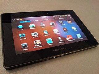 BlackBerry PlayBook Tablet computer