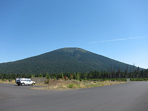 Black Butte (Oregon) - Image: Black Butte, Oregon