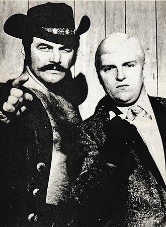 Blackjack Lanza - Lanza with Bobby Heenan