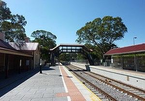 Blackwood railway station - Image: Blackwood Station
