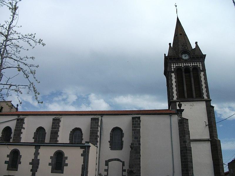 Blanzat's Church - Horizontal picture