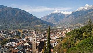 Merano Comune in Trentino-Alto Adige/Südtirol, Italy