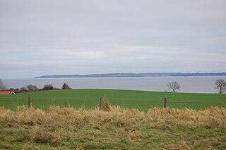 Eckernförde Bay Firth in the western Baltic Sea