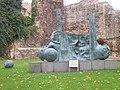 Blue art in the grounds of Reading Abbey - geograph.org.uk - 1288913.jpg