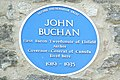 Blue plaque for John Buchan - geograph.org.uk - 334515.jpg