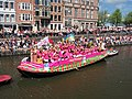 Boat 22 Pink Marrakech, Canal Parade Amsterdam 2017 foto 3.JPG