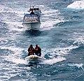 Boats using the slipstream - panoramio.jpg