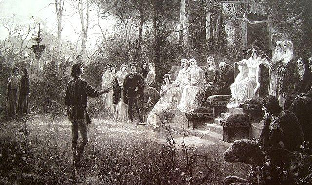 Боккаччо при дворе Джованны I Неаполитанской
