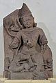 Bodhisattva Manjusri - Sandstone - Circa 10th-11th Century AD - Sarnath - Archaeological Museum - Sarnath - Uttar Pradesh - Indian Buddhist Art - Exhibition - Indian Museum - Kolkata 2012-12-21 2347.JPG