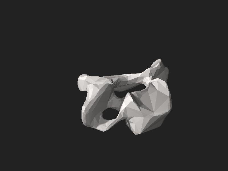 File:BodyParts3D FJ3172 Seventh cervical vertebra.stl