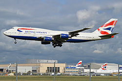 Boeing 747–400 British Airways