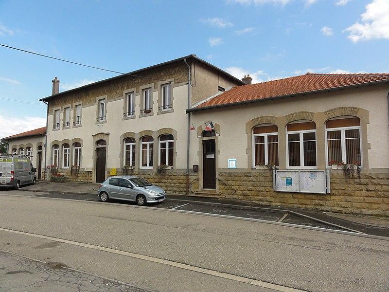 Boismont (Meurthe-et-M.) écoles et mairie