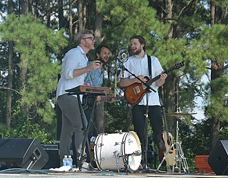 Bombadil (band) - Bombadil performing at the Destination Dix festival in Raleigh, NC
