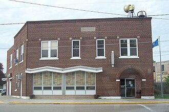 Bonduel, Wisconsin - Image: Bonduel Wisconsin City Hall