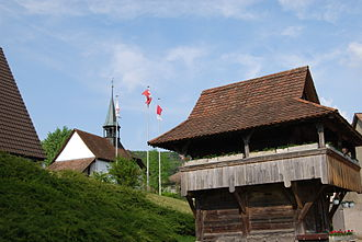 Boningen - Image: Boningen kapelo Mariahilf kaj vilagha grejnejo 171