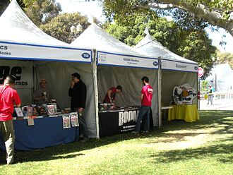 Los Angeles Times Festival of Books - Boom! Studios booth at the 2009 Los Angeles Times Festival of Books, on the campus of the University of California, Los Angeles