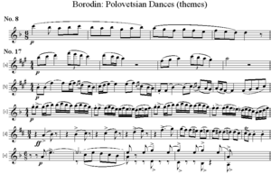 Polovtsian Dances - Image: Bor Pol Dances Themes