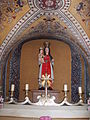 Bornem olv kerk beeld in crypte.JPG