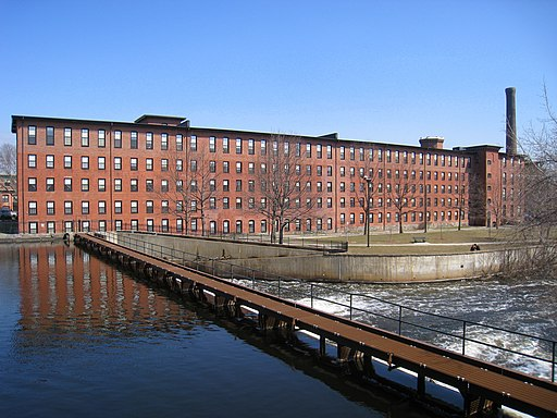 Boston Manufacturing Company mill complex, Waltham, MA - 1