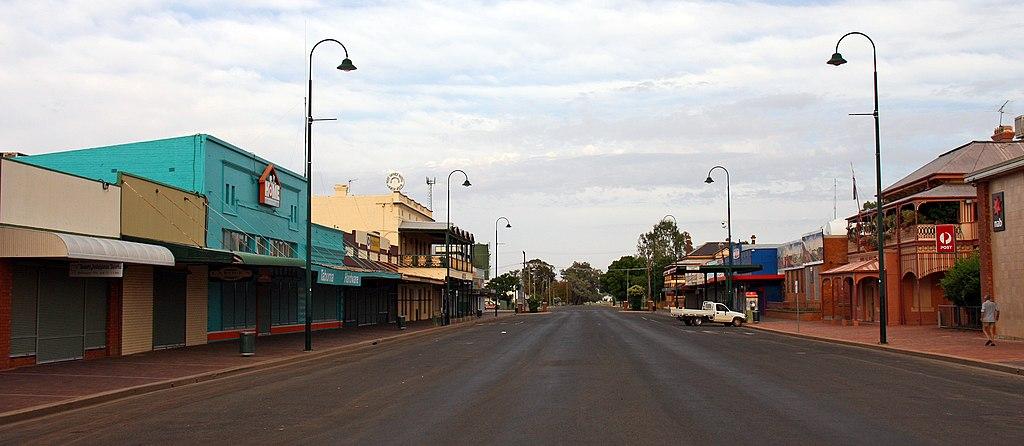 Bourke NSW Main Street 1