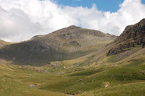 Bowfell - Image: Bow Fell from Lingcove
