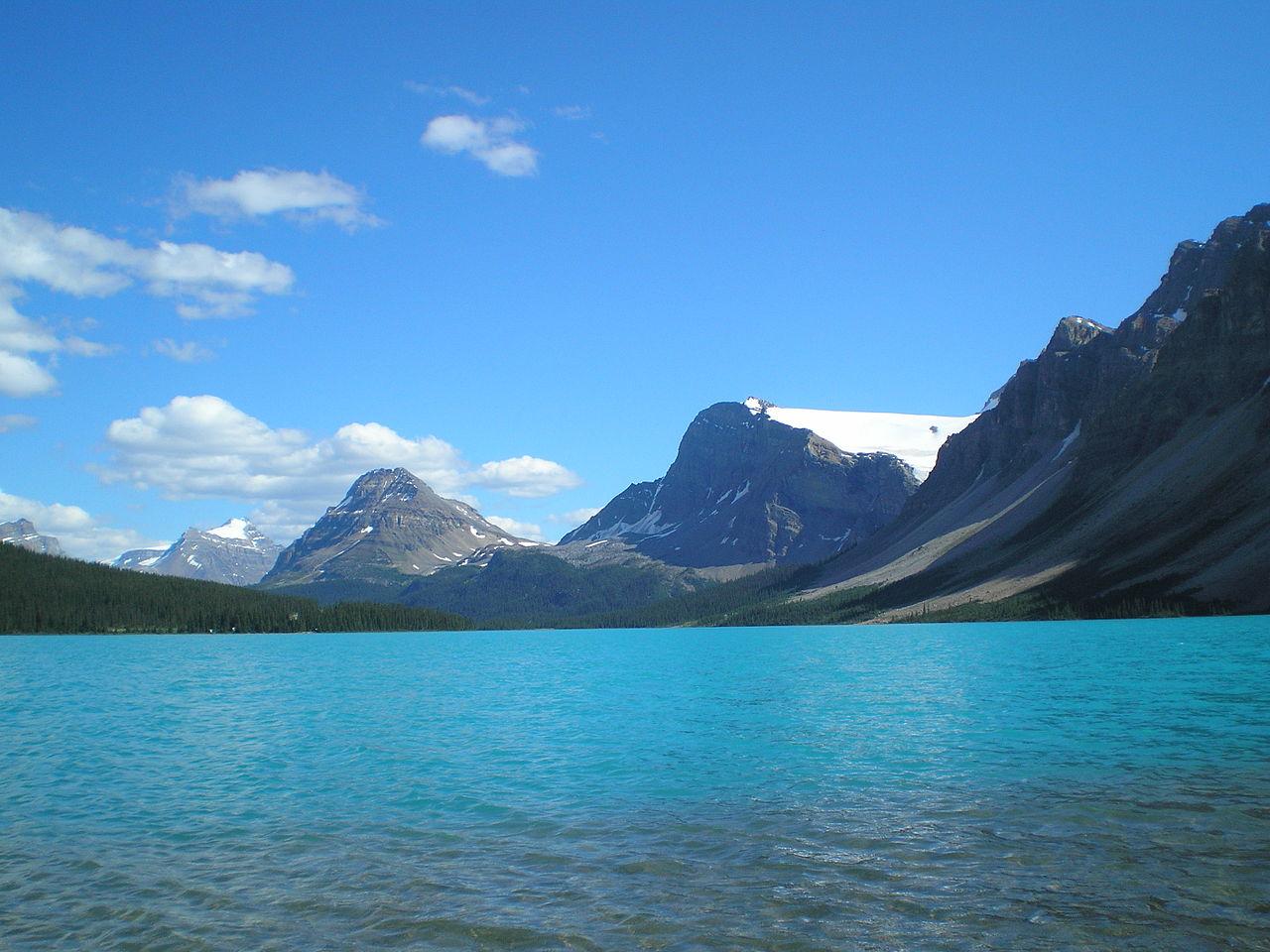 Archivo:Bow Lake-Crowfoot Glacier.jpg - Wikipedia, la ...