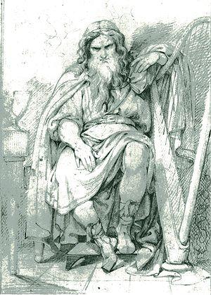 "Bragi - ""Bragi"" by Carl Wahlbom (1810-1858)."