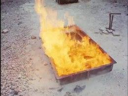 Polygoonjournaal in 1977: Brandblusapparatuur: Hoe werk je ermee?