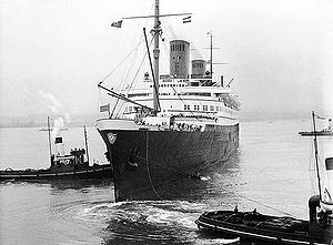 SS Bremen (1928) - Bremen in 1935