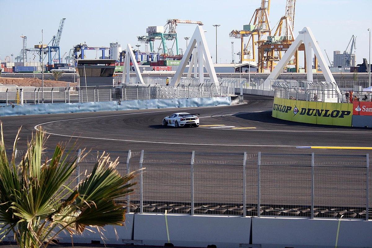 Circuito Urbano Valencia : Valencia street circuit u wikipedia