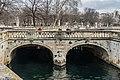 Bridge over the canal in Jardins de la Fontaine in Nimes 01.jpg