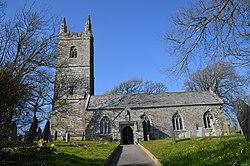 Bridgerule Churchtown, St Bridget's church (25590672350).jpg