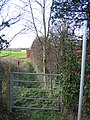 Bridleway from the A41 to Saighton - geograph.org.uk - 317529.jpg