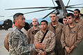 Brig. Gen. Michael Nagata welcomes U.S. Marines.jpg