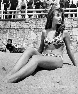 Brigitte Bardot French model, actor, singer and animal rights activist